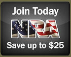 It's so important to join the NRA to help preserve our freedoms. Join the NRA today at discount rates.